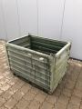 Lagerbox, Stahlboxpalette, Transportbox, Bundeswehrbox BW